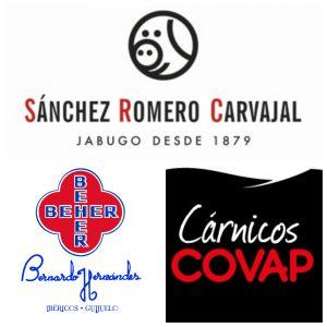 Distribucion de carne de cerdo iberico SANCHEZ ROMERO CARVAJAL COVAP BEHER CINCO JOTAS 5J CEREZO
