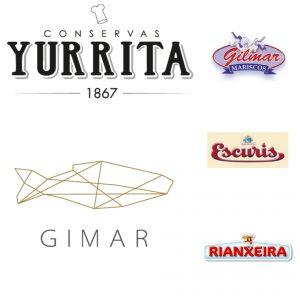 distribucion de conservas de pescado AHUMADOS GIMAR MARISCOS GILMAR ESCURIS RIANXEIRA YURRITA PESCADOR DE VILLAGARCIA CEREZO